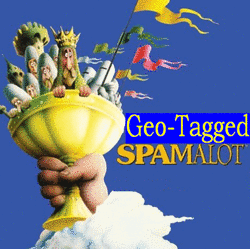 Geo-tagged Spam!