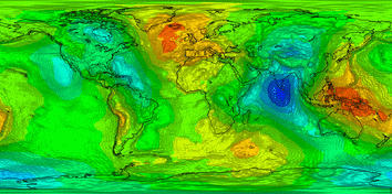 GOCE global gravity model