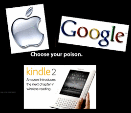 Google - Apple - Kindle