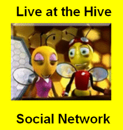 'Live at the Hive' Social Network!