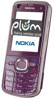 Nokia with Plum Social Network