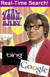 Bing & Google - Real-Time Search