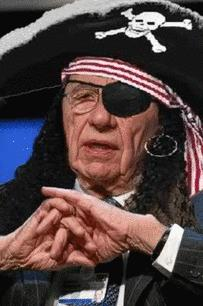 Rupert Murdoch, the Pirate