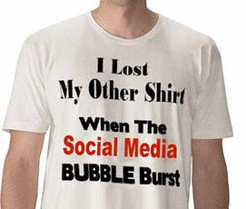 Will the Social Media Bubble Follow The Financial Crisis?