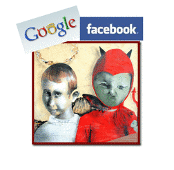 Who's Not Evil Now? Facebook's Social Connections vs Google's Hyperlinks