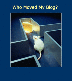 Who Moved My Blog?