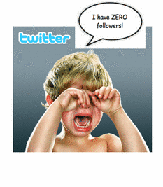 My Followers are down to zero!!!!