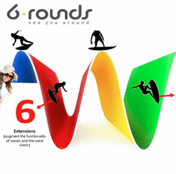 6rounds & Google Wave!