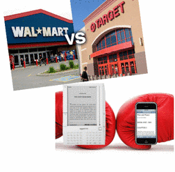 Target vs Wal-Mart - Kindles vs iPhones!