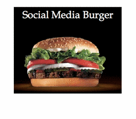 Social Media Burger!