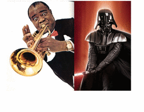 iPhone 4 Bi-Polar Dilemma - Louis Armstrong Meets Darth Vadar