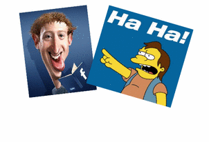 Mark Zuckerberg & Nelson Muntz