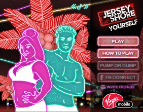 Jersey Shore Facebook Game!