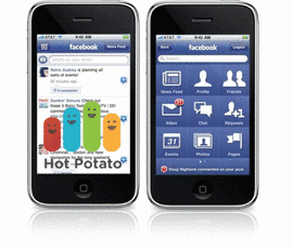 Hot Potato &amp; Facebook!