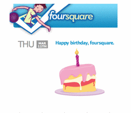 Happy Birthday Foursquare!