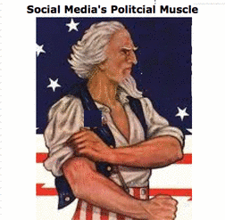 Social Media's Political Muscle!