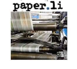 Paper.li newspapers