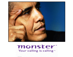 Obama &amp; Monster.com to help Americans find jobs! 