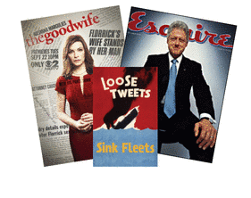 The Good Wife, President Clinton & Loose Tweets!