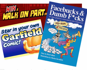 Social Media Entrepreneurs &amp; Garfield Fans Star In Graphic Novel &amp; Comic Strip!