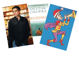 iPad Graphic Novels Feature Deepak Chopra, Buddha & Social Media For Holiday Shoppers