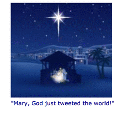 A Social Media Retelling Of The First Christmas!  