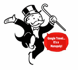 Google's Fare Search For Travel Challenged by FairSearch For Travel