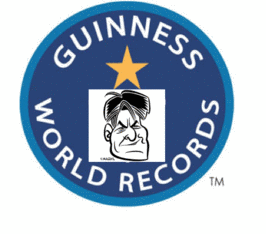 Charlie Sheen's Record Speed On Social Media Highway Sets Guinness Record