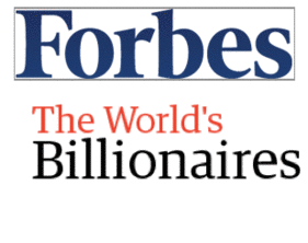 Forbes' World Billionaire List - 2011