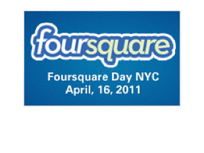 "Since 4 Squared Is 16, ""Foursquare Day"" Must Be 4/16"