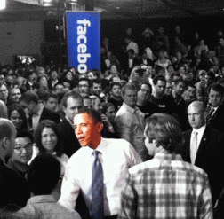 Obama Booked Face Time With Facebook