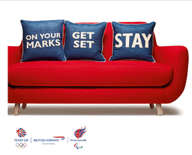 British Airways Uses Social Media & Local Addresses To Build #HomeAdvantage For Olympics