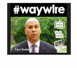 Cory Booker, The Social Media Mayor's #Waywire Disrupts The News Via Video