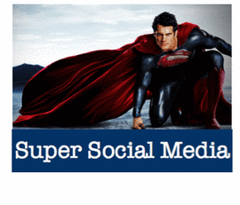 Super Social Media For The Man Of Steel