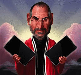 Steve Jobs&amp; The iPad Ten Commandments