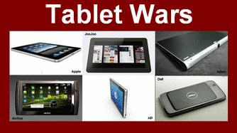 Tablet Wars!