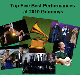 2010 Top Five Performances