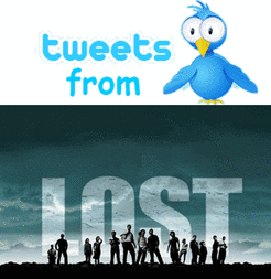 Tweets from LOST prior to Tsunami