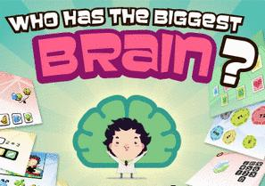 Who Has The Biggest Brain iPod Game
