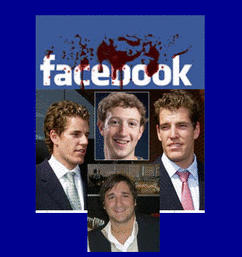 Zuckerberg vs Winkelvosses vs Saverin