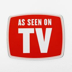 As seen on TV logo.