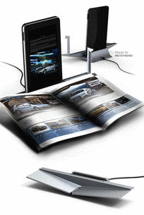 Smart Bookrest Docking System