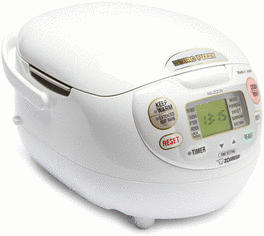Neuro Fuzzy rice cooker.
