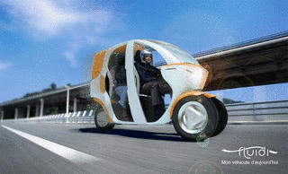 Fluidi Cab Concept Vehicle