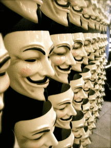 Ghost of Guy Fawkes Resurrected To Destroy Facebook?