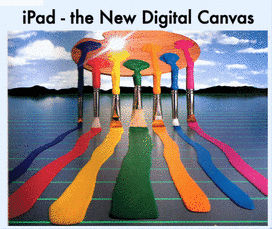 iPad - the new digital canvas!