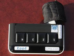 Kee4 Keyboard - 4 keys to awesome.