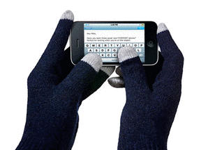 Fivepoint gloves let you use touch screens no matter the weather.