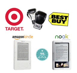 Kindle vs Nook - Target vs Best Buy! 