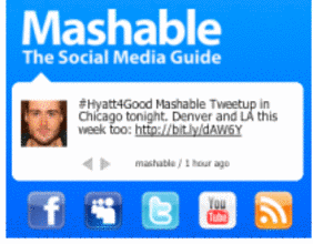 Mashable Sociable Ad